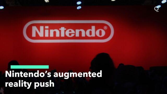 Nintendo's Augmented Reality Push