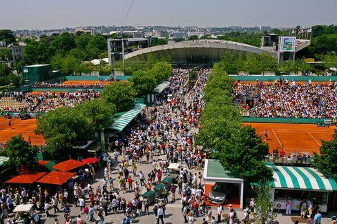 Roland Garros in Paris.