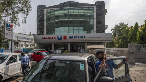 India's Top Carmaker Sees 'Much Better' 2021 as Economy Rebounds
