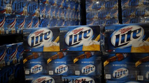 SABMiller First-Quarter Sales Rise More Than Analysts Expected