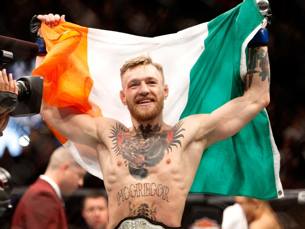 UFC's Conor McGregor Says He's Retiring From Mixed Martial Arts