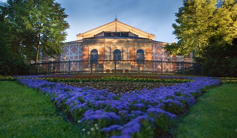 The Bayreuth Festival Theater