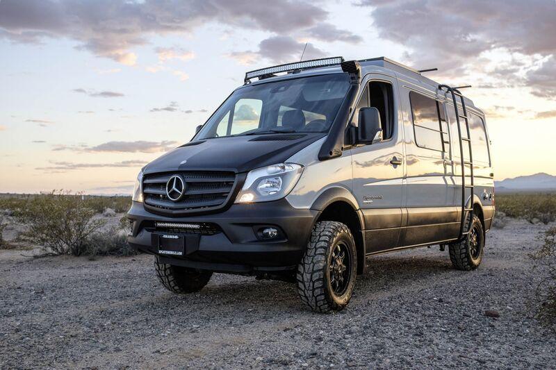 4x4 vans europe