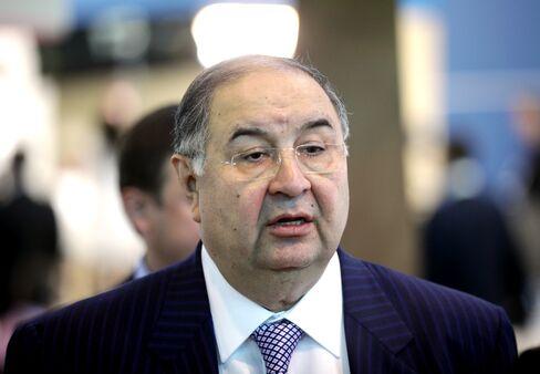 Russian Billionaire Alisher Usmanov.