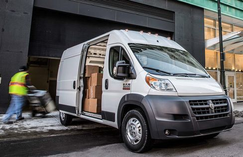 The Ram ProMaster City comes with extra headroom.