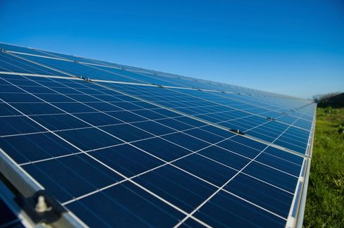 Solar energy is your best bet for power on the island. (You'll also probably want a backup generator.)