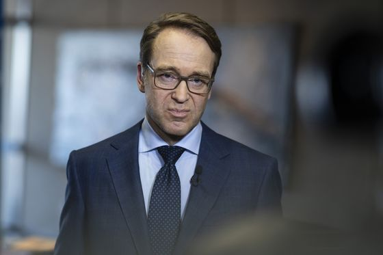 ECB's Weidmann Takes Sideswipe at Trump's 'Mistaken' Trade Policy