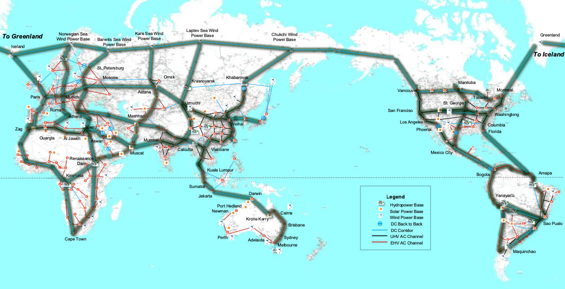 relates to The Future of Power Is Transcontinental, Submarine Supergrids