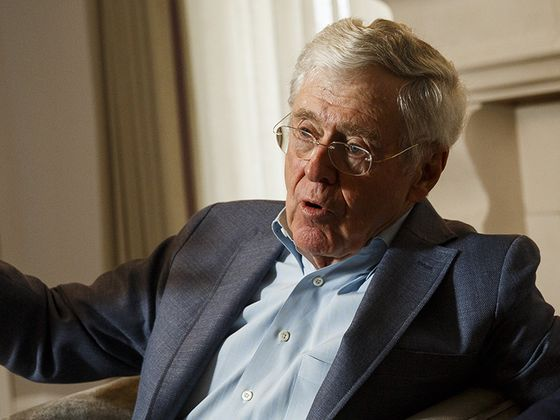 Koch Network Contemplates Era When Neither Brother Leads the Fight