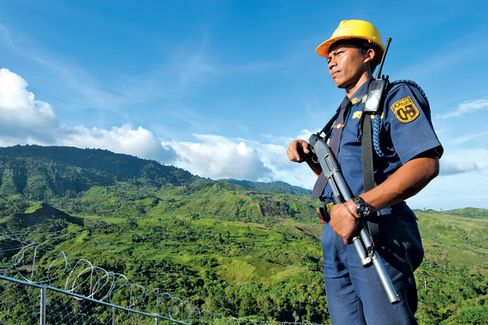 Violence Halts Mining on a Philippine Island