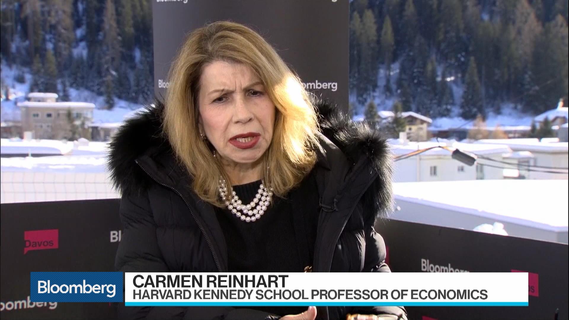 Harvard Kennedy School Professor Carmen Reinhart