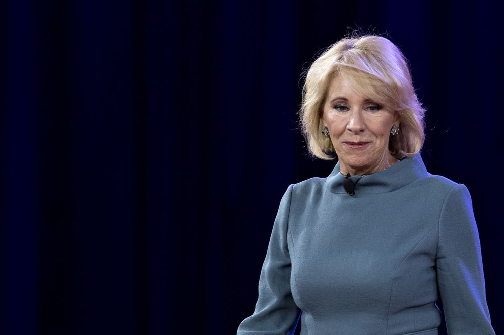 Betsy DeVos Tells Students Not to 'Be Nasty' and Hide Behind Twitter Handles