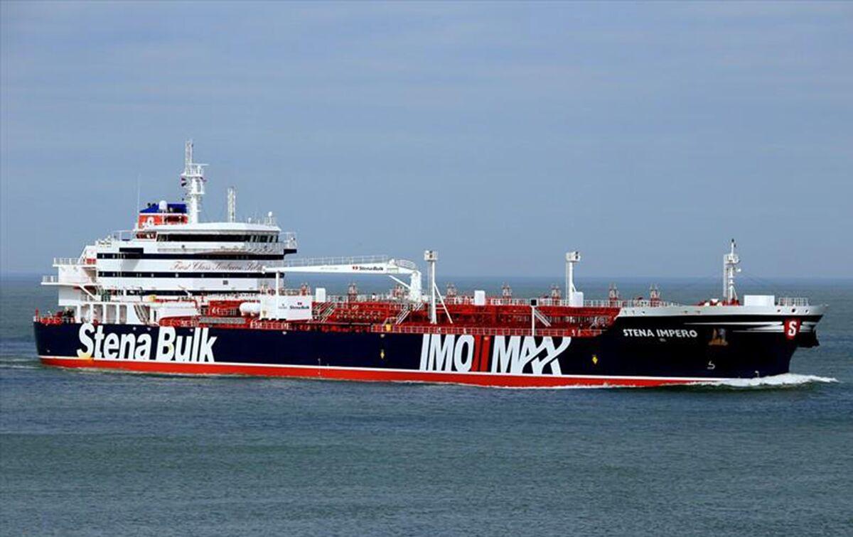 Video Shows Iran Seizing British Oil Tanker in Fars News Tweet