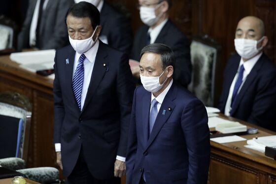Hong Kong's Weaker Financial Hub Appeal is Japan's Opportunity, Aso Says