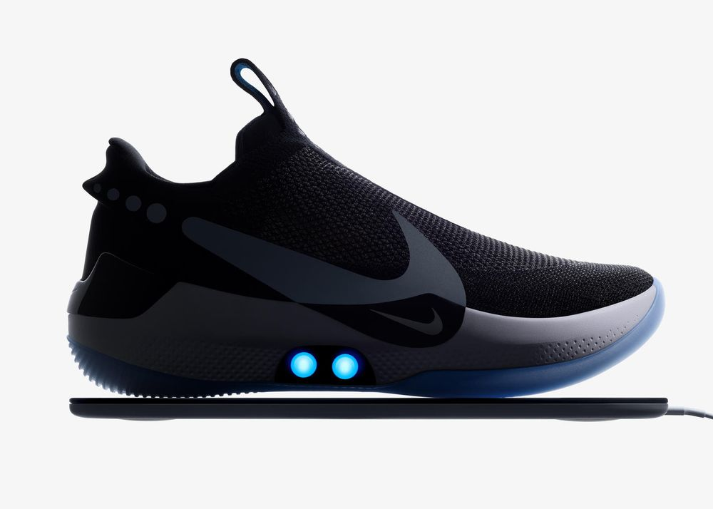 Cuerda Necesitar Fraternidad  Nike New Smart Sneaker Adept to Track Real-Time Sport Performance -  Bloomberg