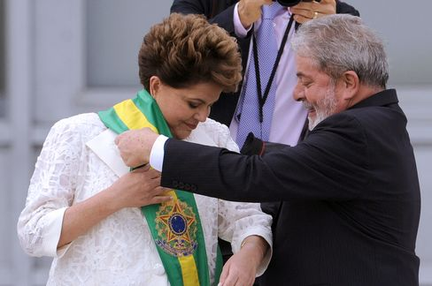 Rousseff inaugurated in 2011.