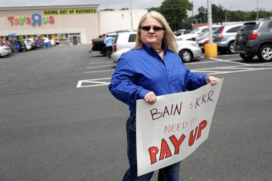 Toys `R' Us Workers Go to Congress to Seek Curbs on Buyout Firms