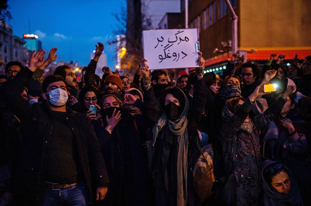 Image result for Iranian protests