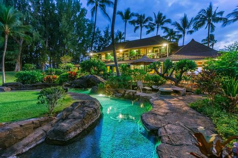 The Wai'alea Bay property is being offered for $24.5 million. Source: Hawaii Life Real Estate Brokers via Bloomberg