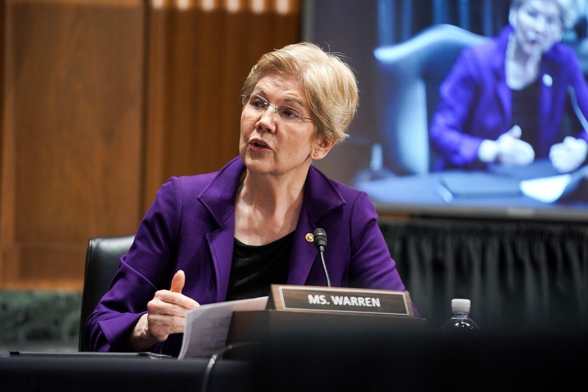 Warren Seeks Senate Face-Off With Billionaire Nemesis Cooperman