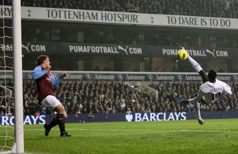 Tottenham Goes Third in Premier League, 2-0 Win Over Villa