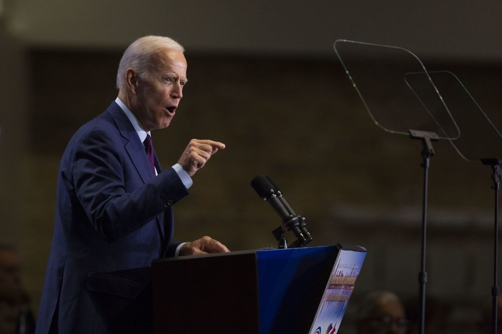 Biden Joins Other Democrats in Refusing to Take Money From Fossil-Fuel Industry