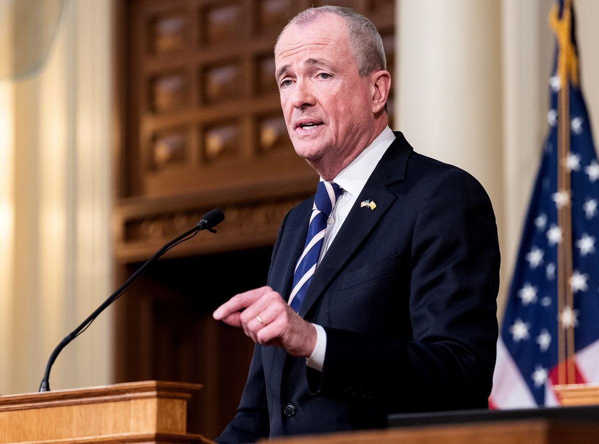New Jersey Governor Phil Murphy Says He Has Cancer on Kidney