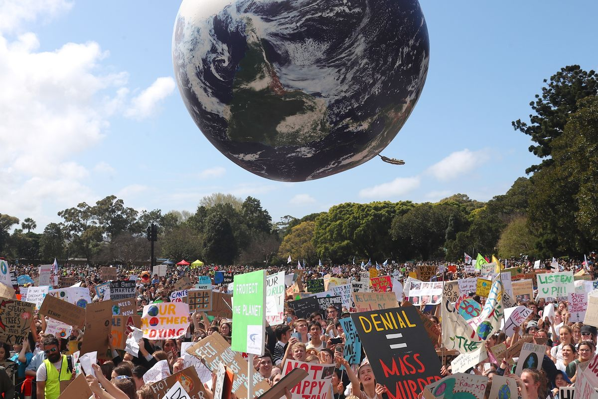 Climate Strike Protesters Flood the Streets Around the Globe