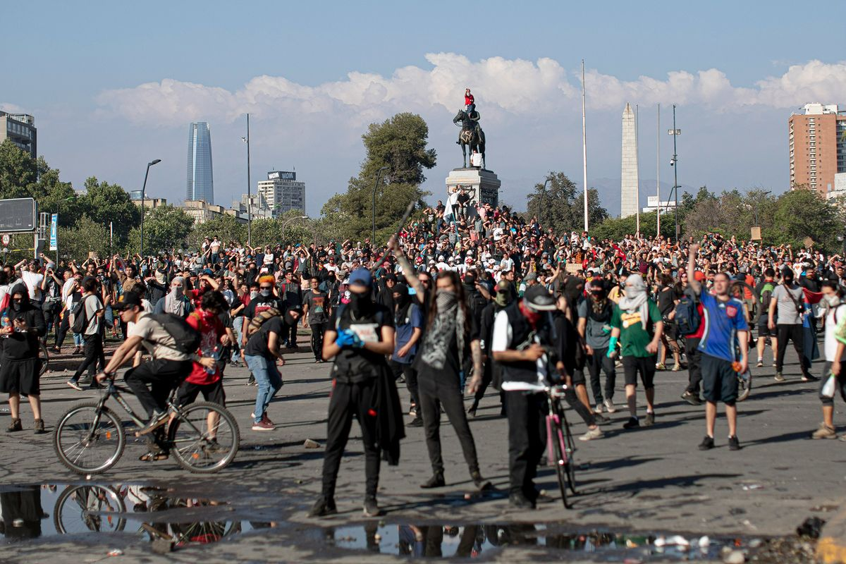 Chile Faces Mine Stoppages as Workers Join Protests
