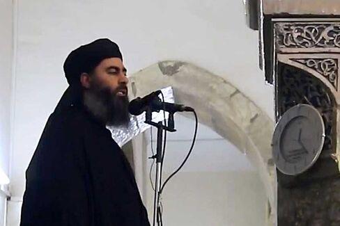 Anadolu_05072014_Alleged ISIL leader appears in video footage 1
