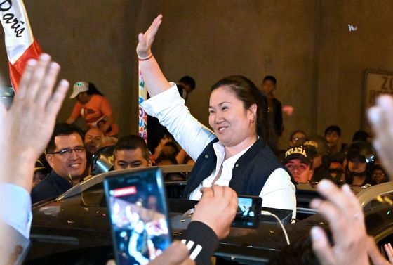 Peru's Opposition Leader Fujimori Freed From Jail, Reuters Says