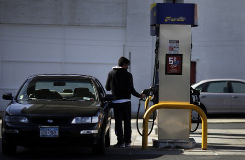 U.S. Gasoline a Bargain as Motorists Pay 63% Less Than Norway