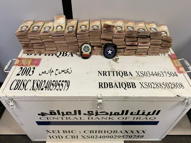 The Central Bank denies any smuggling operation to Iraqi currency categories 800x-1