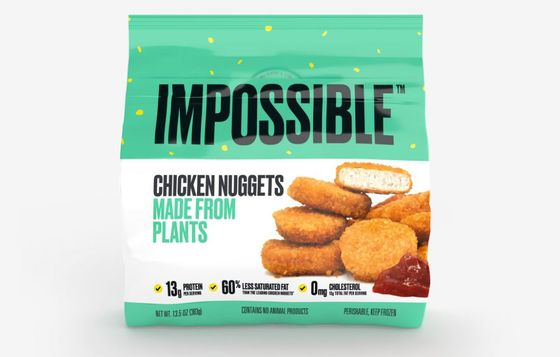 Impossible Foods Begins Rollout of Its 'Chicken' Nuggets