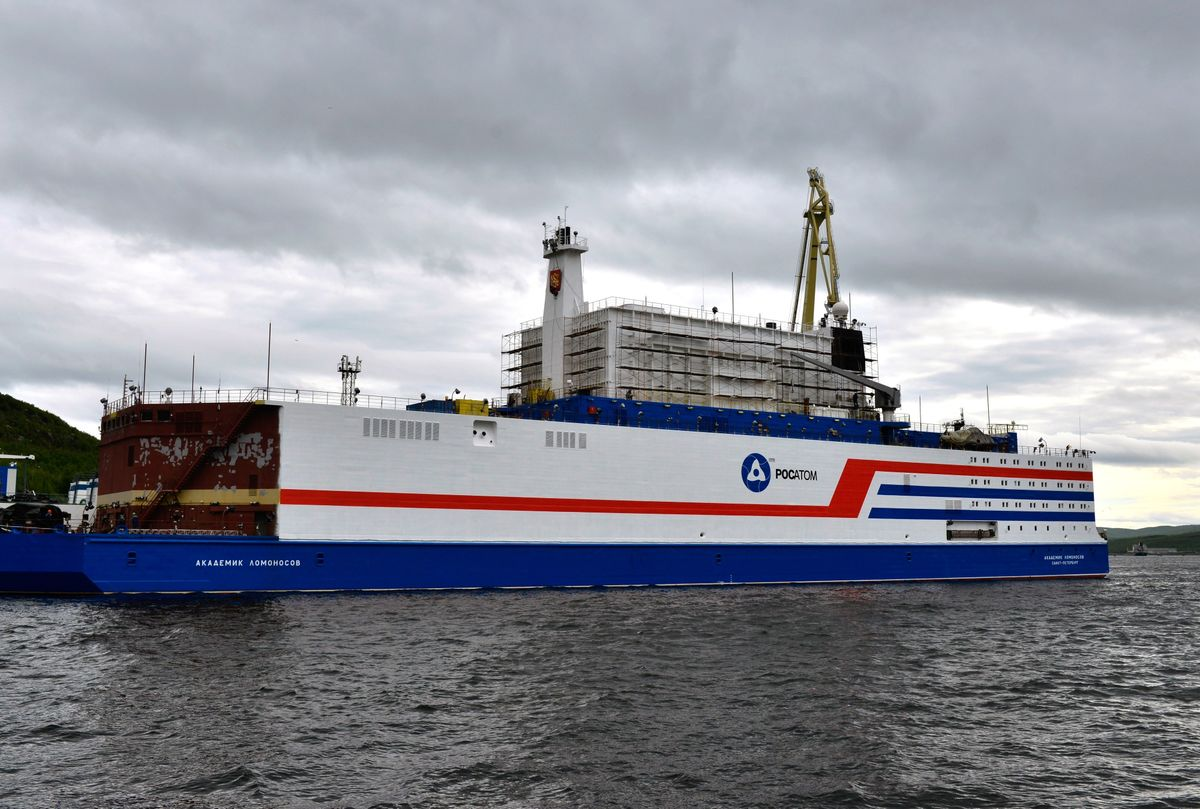 Russia Launches Floating Nuclear Reactor in Wake of Latest Accident