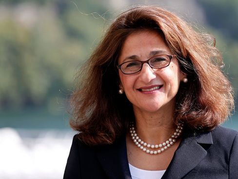 Bank Of England Deputy Governor Nemat Shafik.