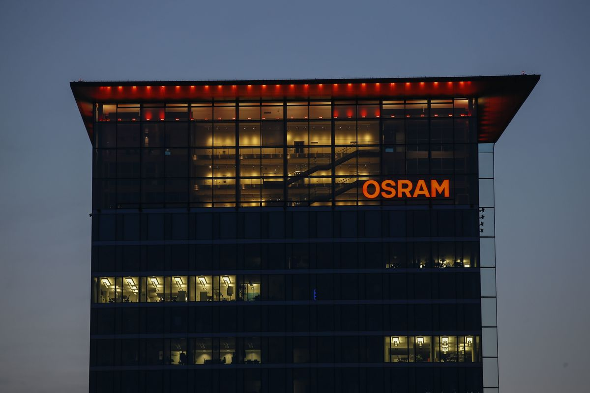 AMS Vows to Pursue Osram Takeover After $4.4 Billion Offer Fails