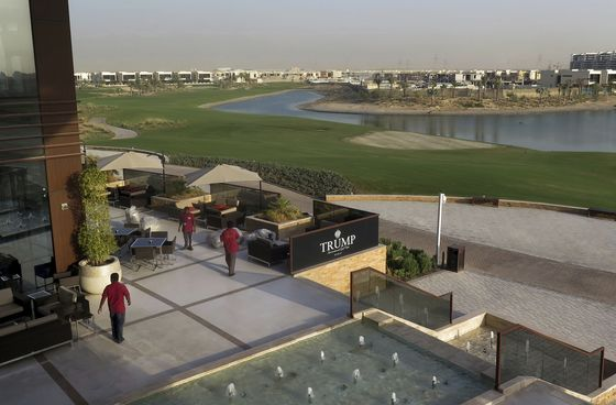 Trump's Dubai Golf Expansion Gets Delayed Until at Least 2022