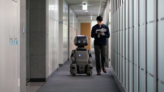 Korea Workers Need to Make Space forRobots, Minister Says