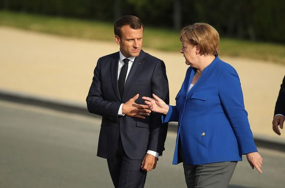 Macron and Merkel Are Signaling They've Finally Had Enough of Trump