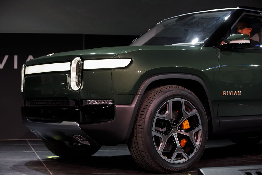 Ford Joins Investing In Electric Truck Maker Rivian