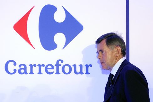 Carrefour SA Chief Executive Officer Georges Plassat