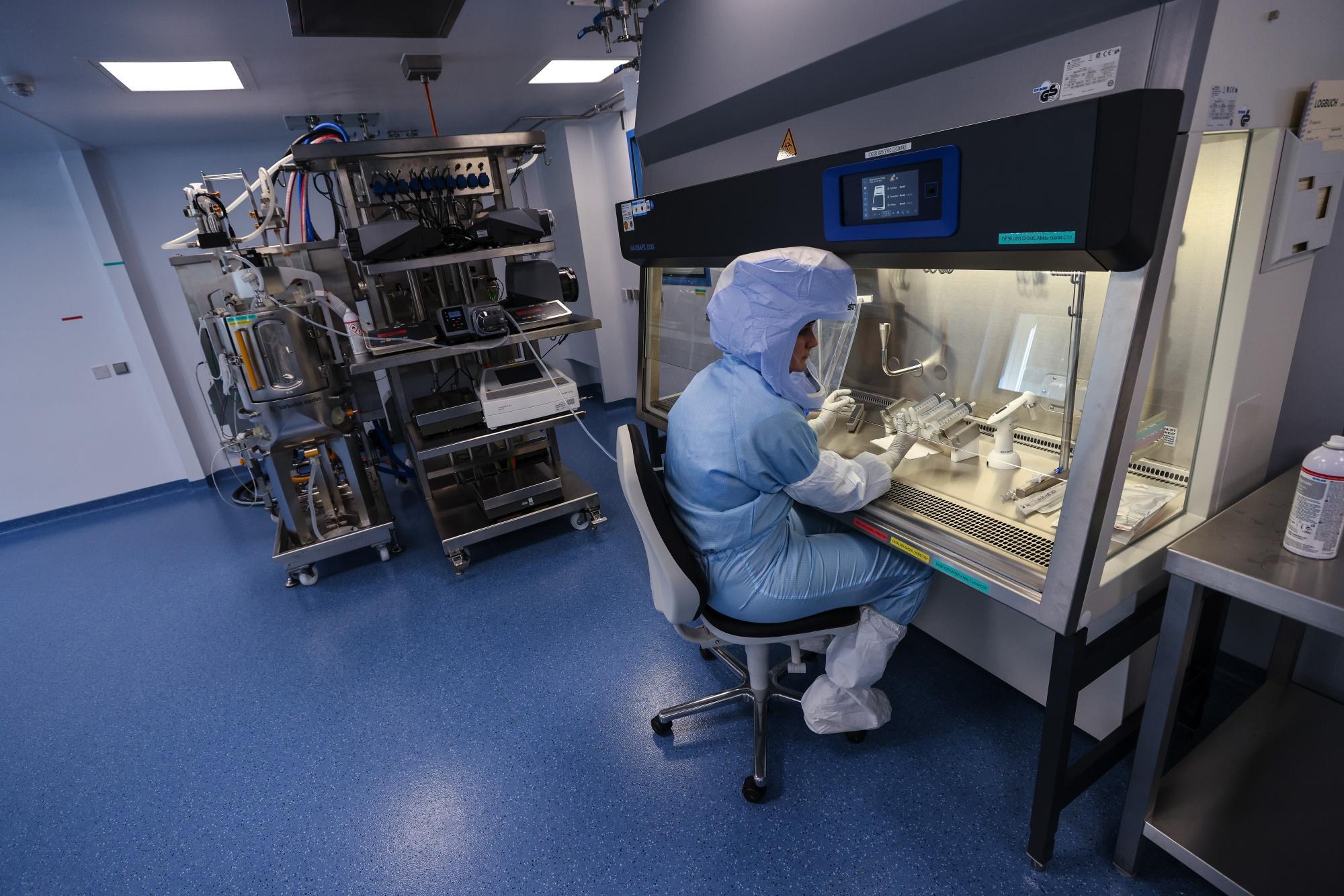 Inside BioNTech SE's Vaccine Laboratory As Target Raised to 2.5 Billion Doses