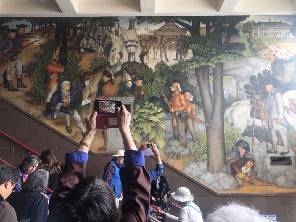 San Francisco S Fight Over A Depression Era Mural Bloomberg