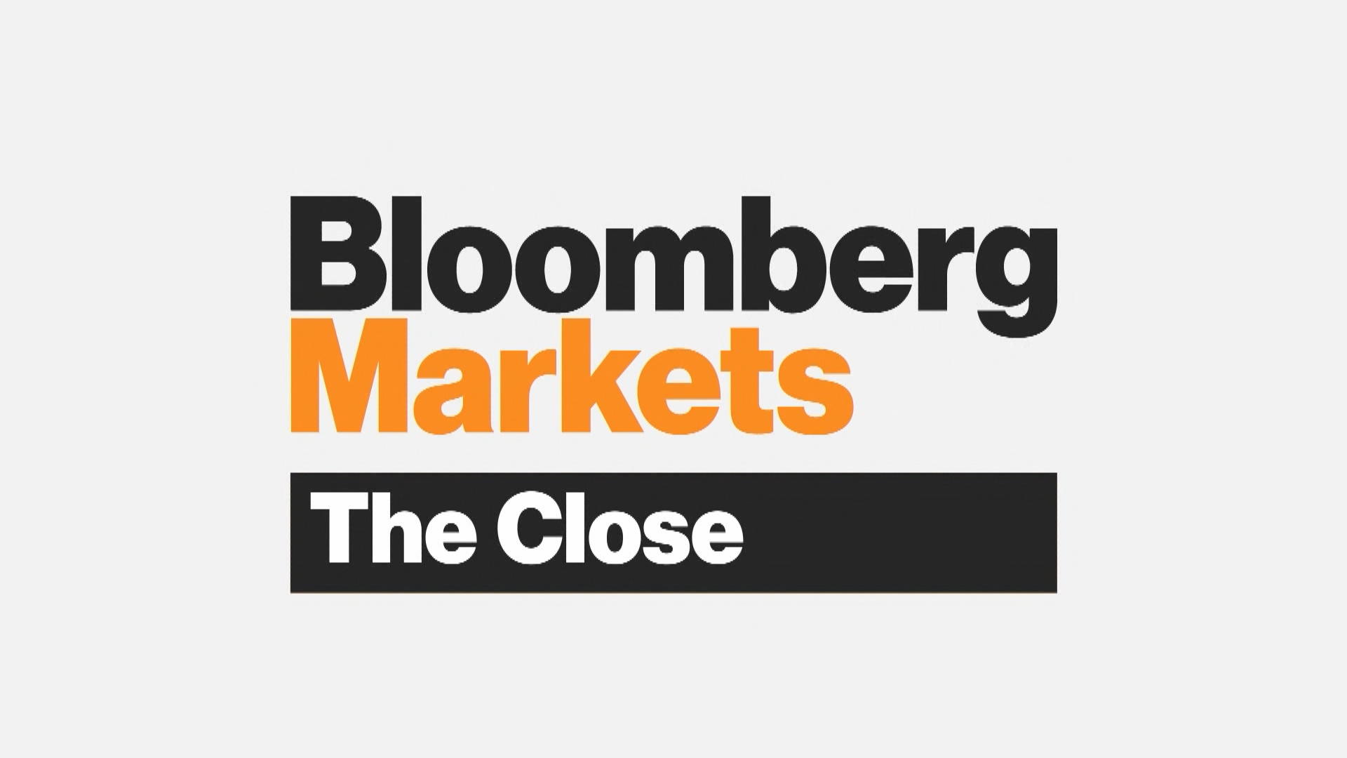 Bloomberg Markets: The Close' Full Show (8/9/2019) - Bloomberg