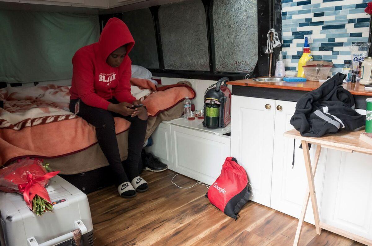 Living In A Van in Google's Backyard? Some Employees Make It
