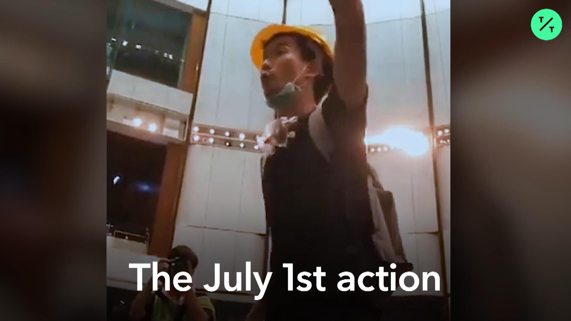 Meet Hong Kong's Unmasked Protester