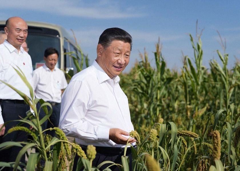 relates to Xi Jinping Is Too Busy Lobbying China's Elite for a Global Summit