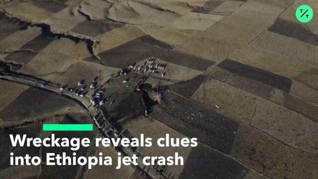 Piece Found at Boeing 737 Crash Site Shows Jet Was Set to Dive