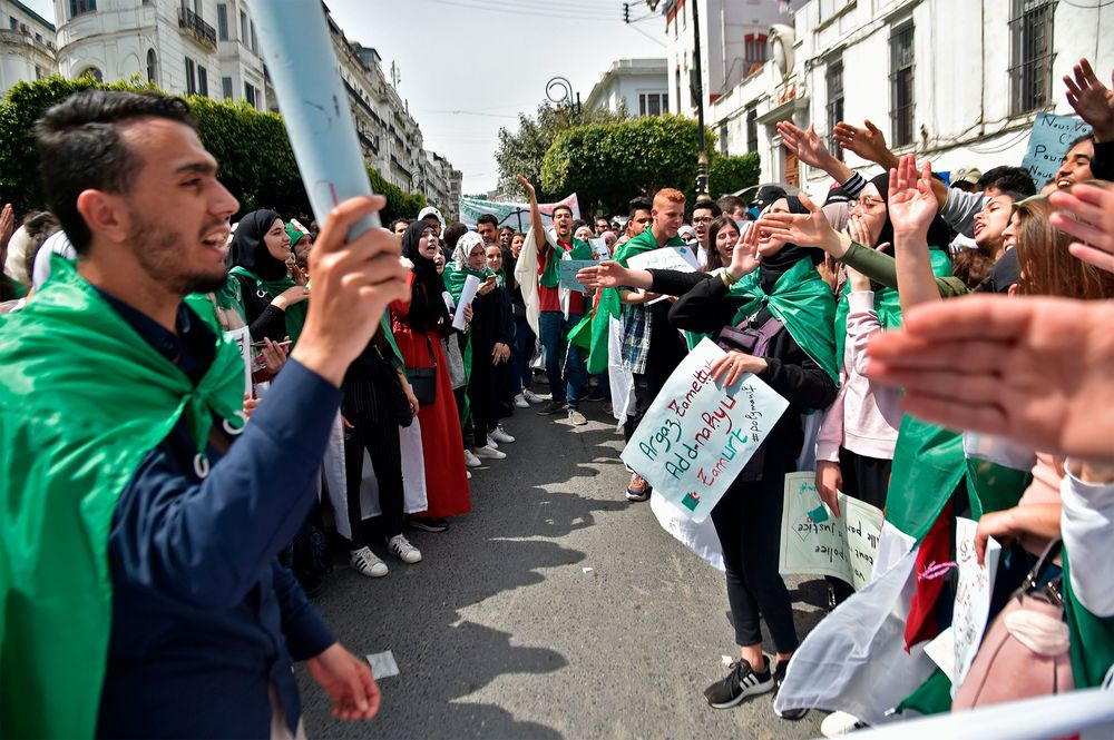 Algerian Military's Patience Wearing Thin With Daily Protests